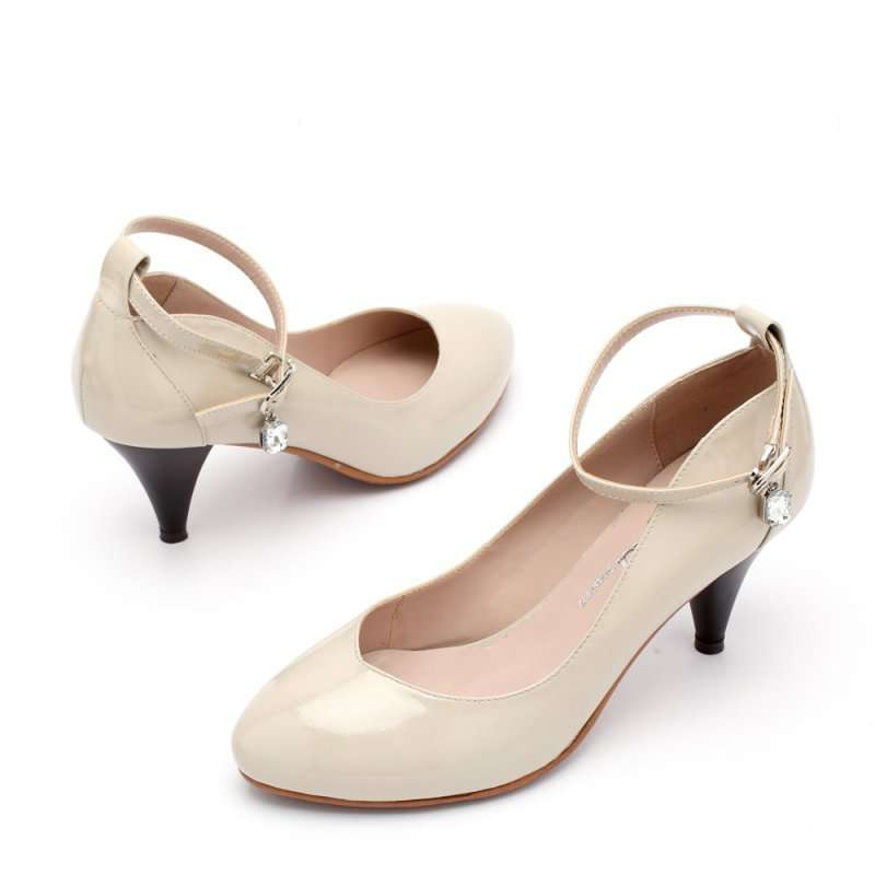 森达2012春季灰漆牛女单鞋4ad62d