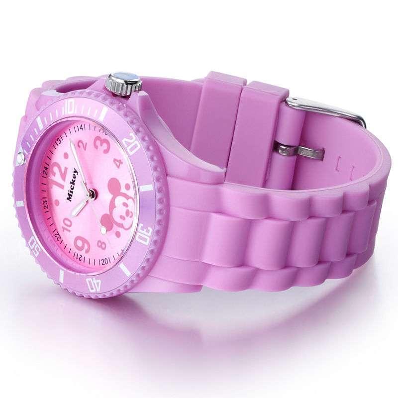 迪士尼mickey米奇紫色手表彩色dc51009pl