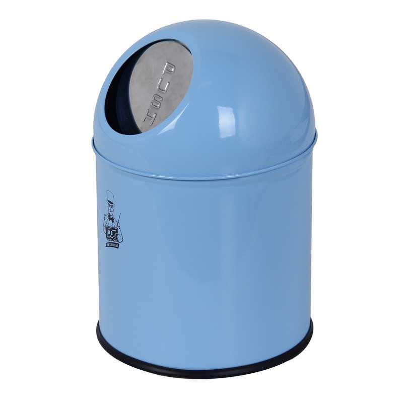 世家3l桌面垃圾桶蓝色【报价