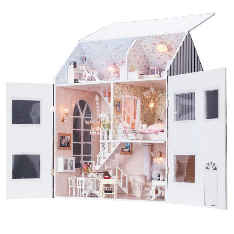 diy手工小屋 超大型梦想家园 138-08 创意摆件 拼装玩具 男孩女孩礼物
