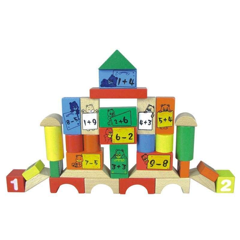母婴 玩具 积木拼插 堆叠积木 金钥匙 金钥匙小熊算数乐园cdn-8428