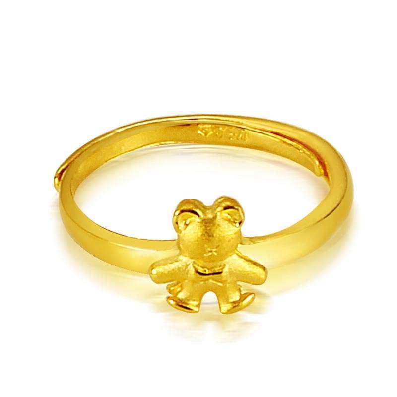 一个五克的千足金戒指值多少钱