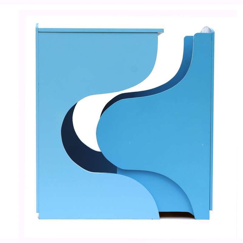 学习桌椅套装 蓝色