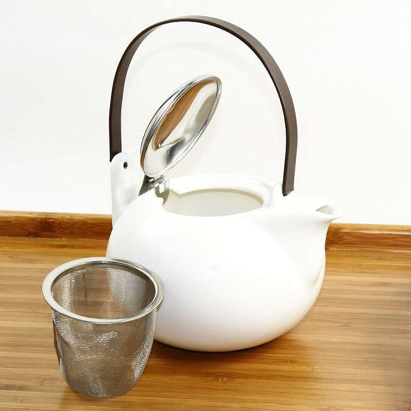 现代茶具组/白色(一壶四杯)【报价