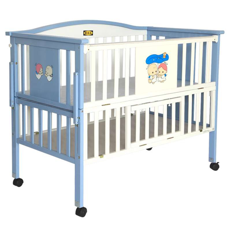 李贝儿 sc628 高级多功能木制婴儿木床 婴儿床 童床