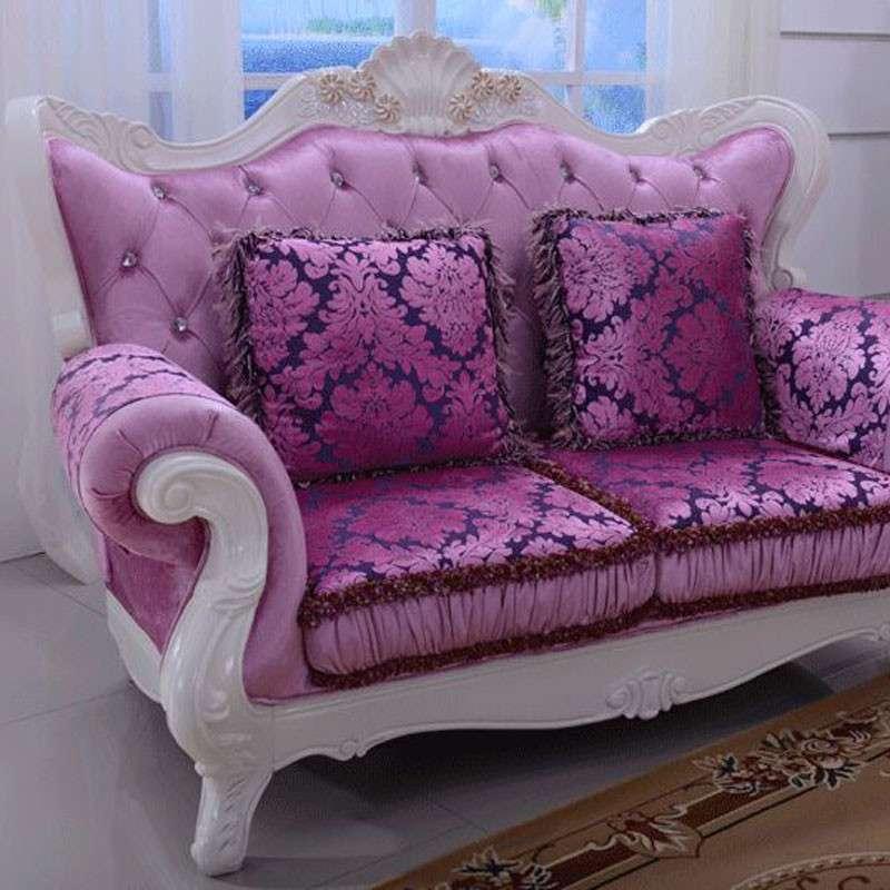 欧式新古典客厅布艺沙发