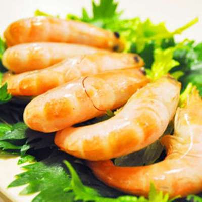 御鲜轩 南美熟虾 格陵兰岛北极虾 单冻熟虾 美味新鲜