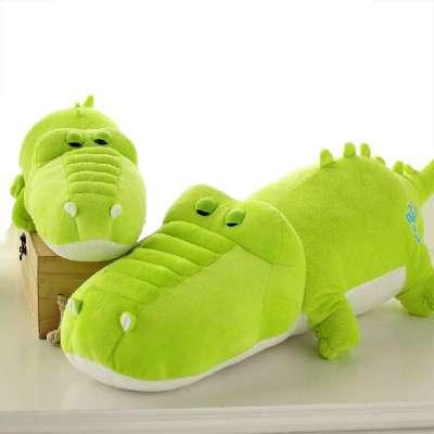 可爱绿色鳄鱼手机壁纸