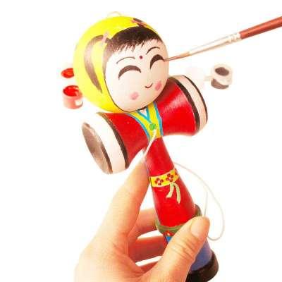 手绘材料包 传统儿童涂鸦剑球技巧玩具(含绘画工具)-苏宁电器网上商城