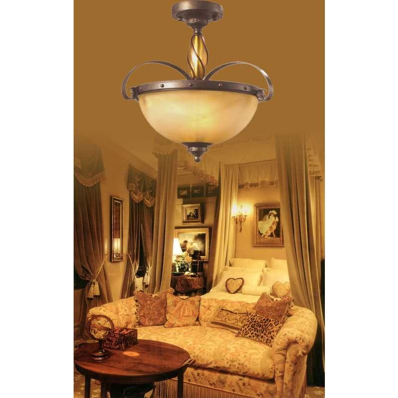 欧式乡村客厅灯具图片大全