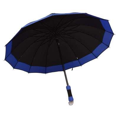 百盛洋伞 bsy-1121商务伞双人加大半自动伞男士伞 14根加固 遮阳伞