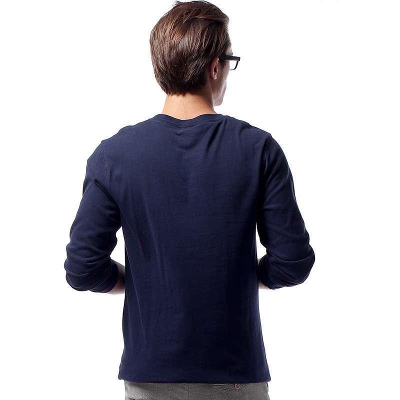 男高领打底衫搭配外套