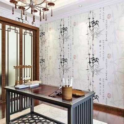 竹子装修墙面图片