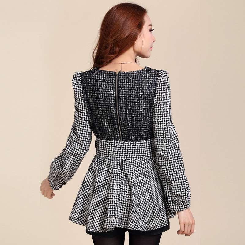 秋冬天连衣裙蓬蓬裙牌子品质好 新款好用