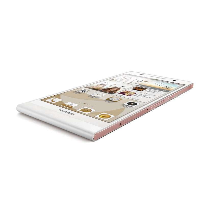 机p6-c00(白色)玫瑰金边框