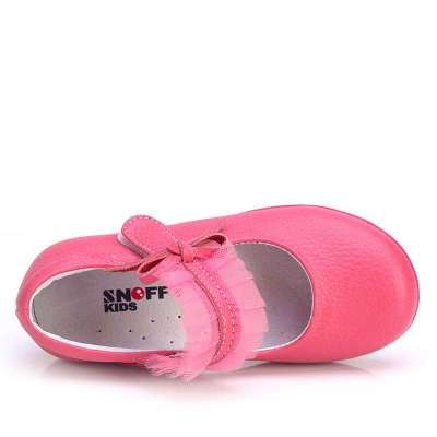 斯纳菲童鞋 女童皮鞋 公主鞋女 蕾丝单鞋2014新