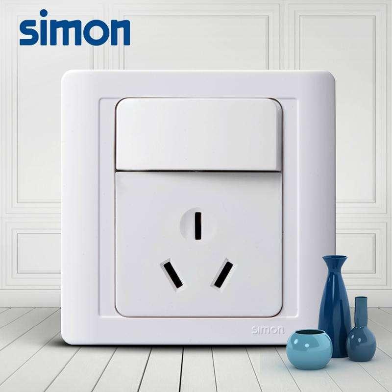 西蒙开关插座西蒙55系列 一开16a空调插座 n51682b