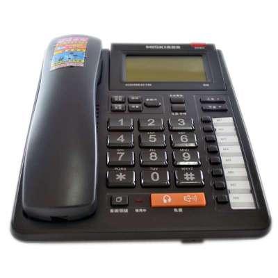 美思奇606商务办公耳机通话电话机