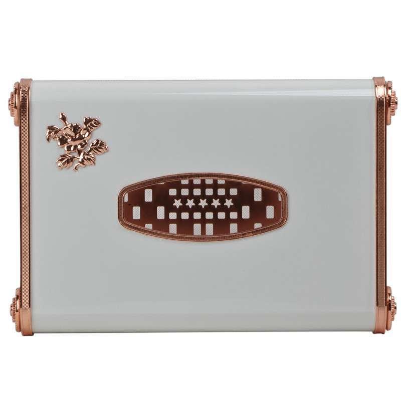 高档欧式多功能金属纸巾盒