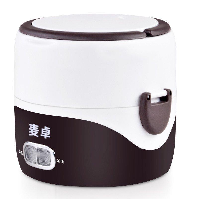 麦卓mj-2011电热饭盒 不锈钢内胆电加热饭盒