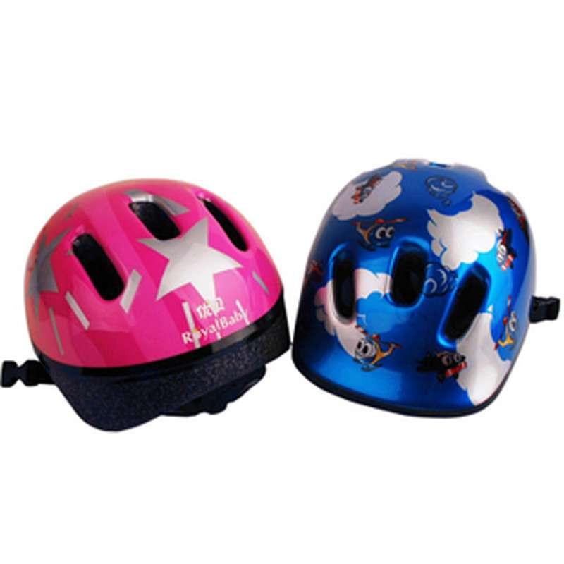 优贝头盔/自行车头盔/专为儿童安全特价 粉色小精灵