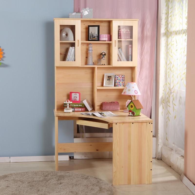 书柜书桌组合 转角电脑桌