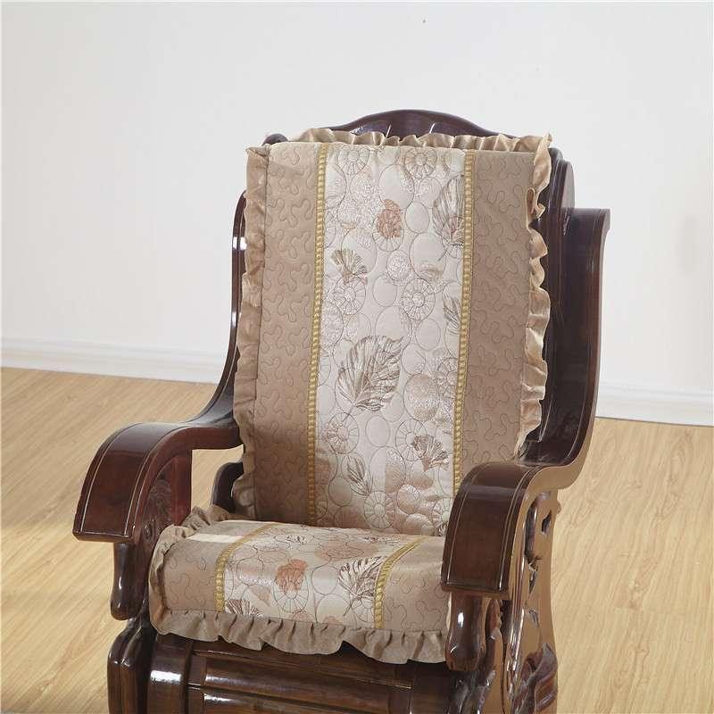 豪华裙边带靠背海绵木沙发组合坐垫