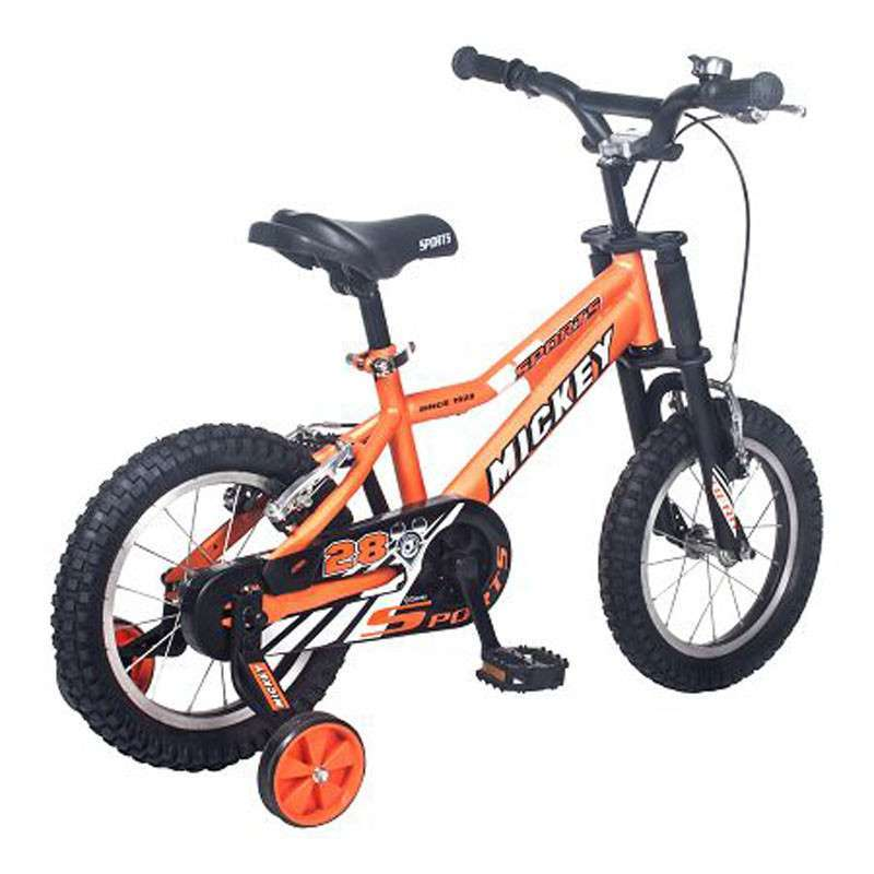 5分钟安装 好孩子炫酷快易装14寸儿童自行车hb1479