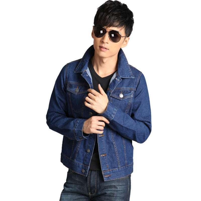 时尚帅气深蓝色