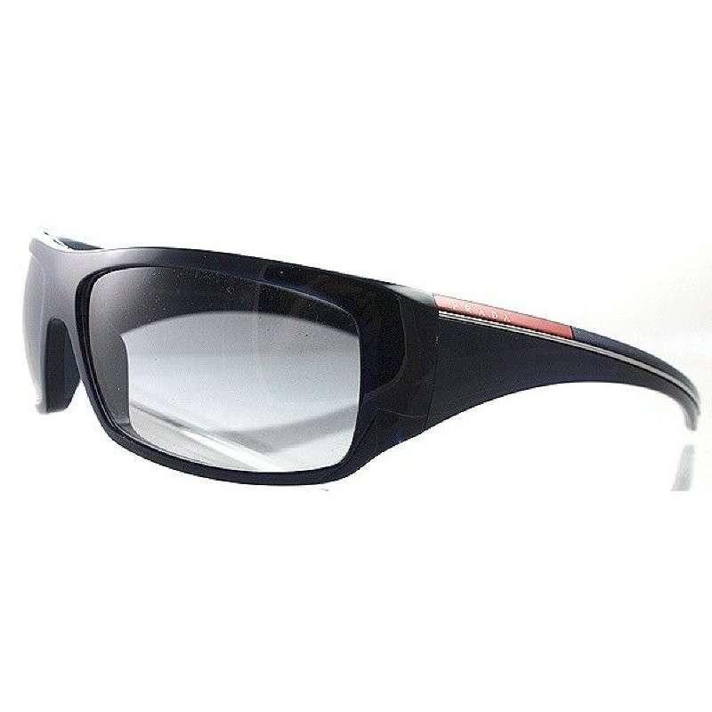 prada 普拉达 男士塑料简约太阳镜 ps01ls f