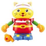 彩虹 益智孩子伴侣 声控智能猫咪 900332