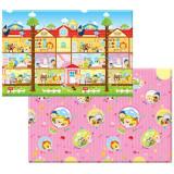 康贝儿 儿童爬行垫 宝宝爬爬垫 游戏毯朵拉西 S号 11mm加厚 韩国进口