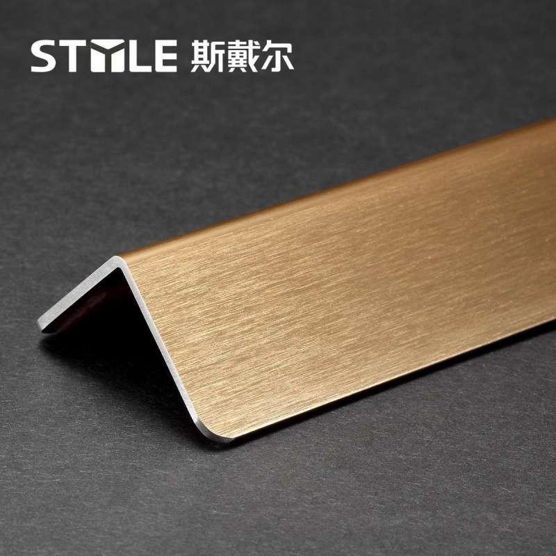 斯戴尔钛合金1.2米欧式护墙角 包墙角 护角条 墙纸墙护角 金属保护条