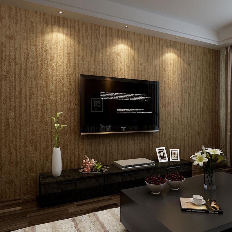 米素壁纸 pvc客厅现代简约 卧室电视背景墙壁纸竖条纹