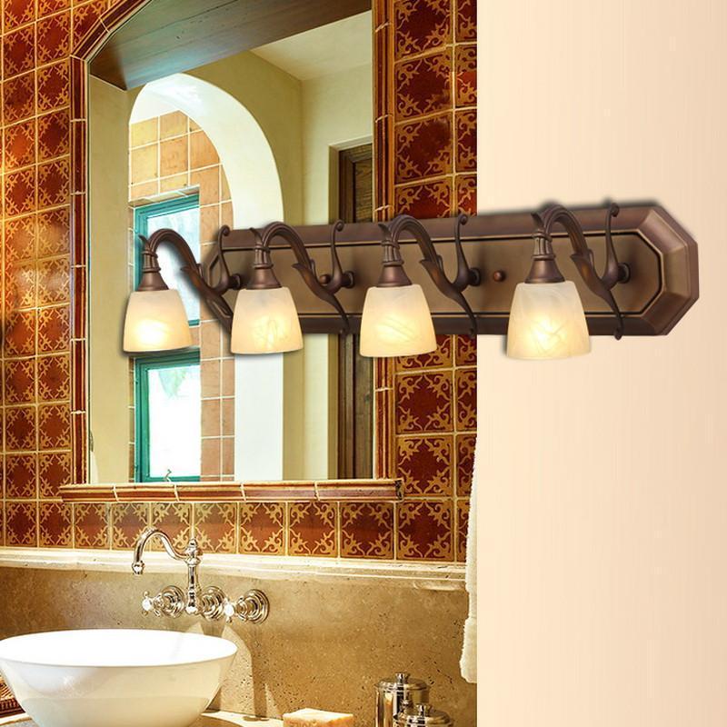 【王大哥照明】王大哥照明欧式镜前灯浴室灯简约卫生