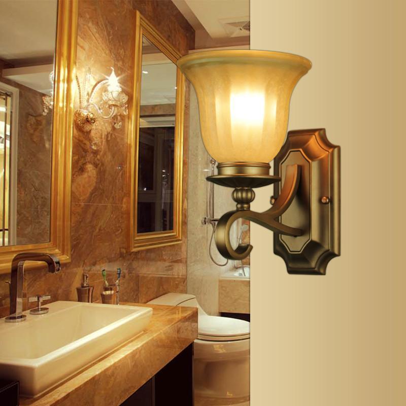王大哥照明欧式复古创意楼梯壁灯2078-1w客厅背景墙