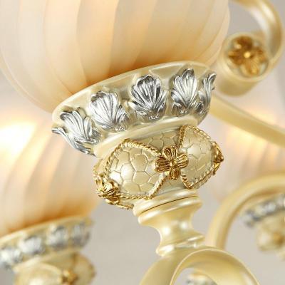 高端欧式吊灯奢华树脂餐厅灯卧室灯酒店别墅大厅灯饰