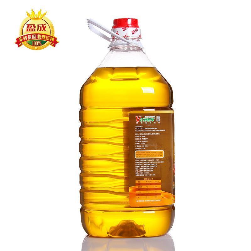 盈成特香压榨老菜油5l 食用油