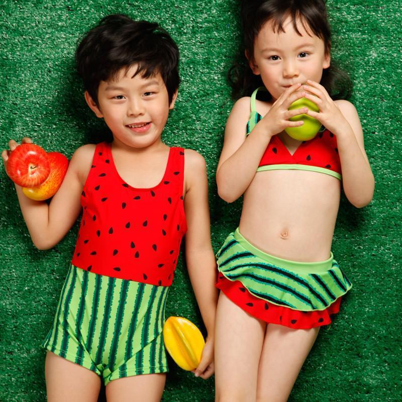 【宜肤品牌】宜肤儿童游泳衣男女中小童可爱宝宝孩子