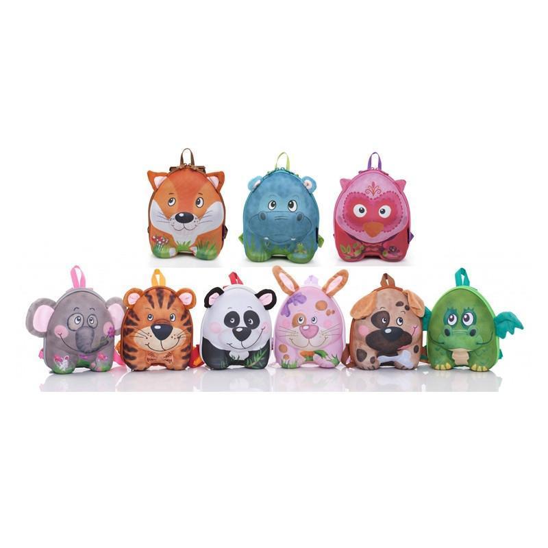 赠品德国okiedog儿童3d可爱动物双肩背包幼儿园宝宝小书包(随机发货)