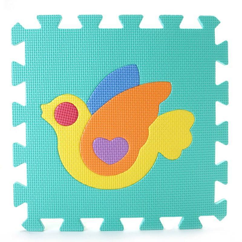 明德动物拼图爬行垫 eva泡沫拼接地垫 宝宝爬爬 安全环保地板垫子30*1