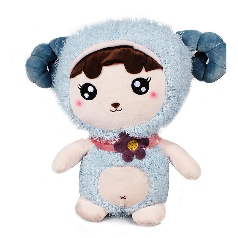 可爱毛绒玩具创意羊公仔布娃娃