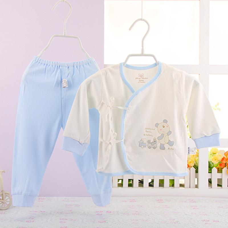 新生儿内衣套装竹纤维套装初生婴儿内衣婴儿和尚服两