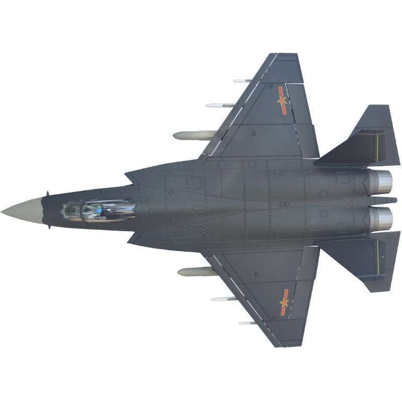 歼31战斗机模型 合金成品静态飞机