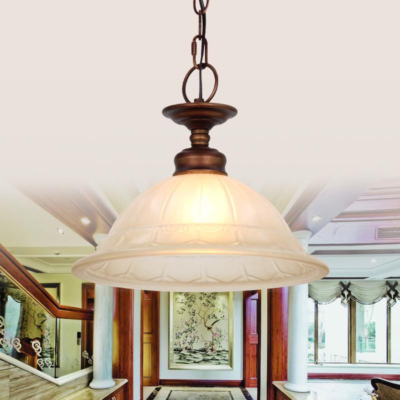 王大哥照明欧式田园简约铁艺吊灯美式灯客厅餐厅卧室