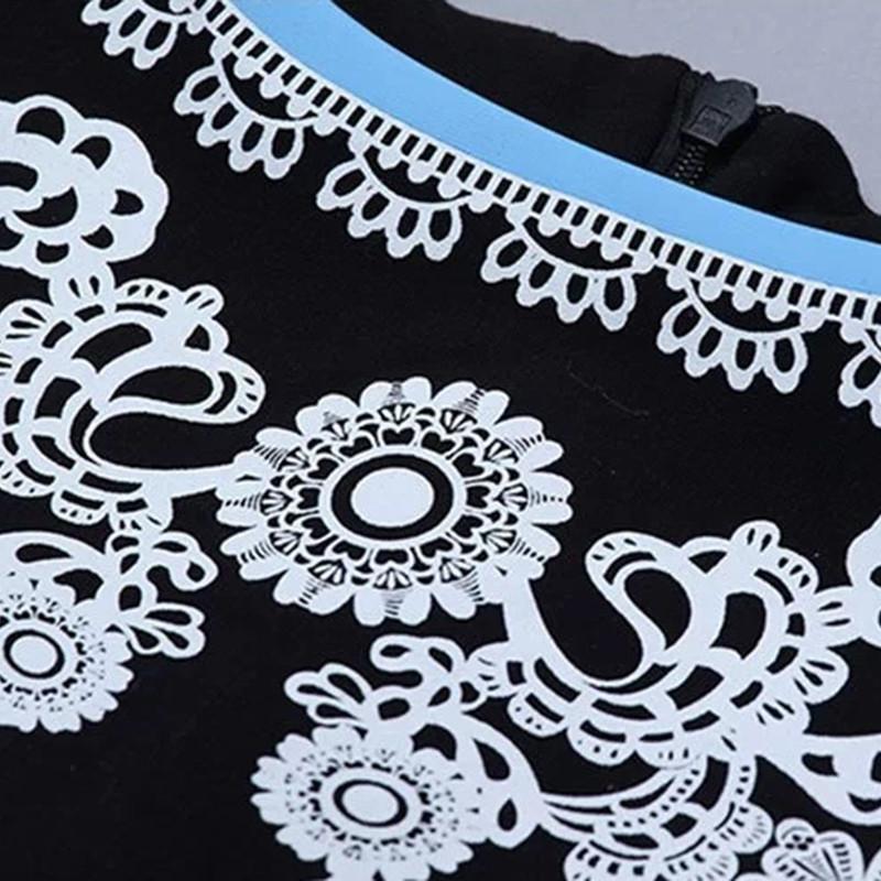 新款民族风修身气质绣花无袖连衣裙背心裙