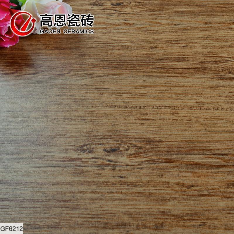 仿古砖瓷砖 gf6212 仿木纹防滑地砖