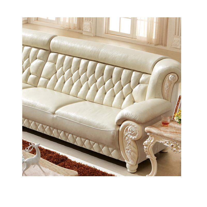 法丽莎家具k6欧式沙发客厅l型转角沙发组合小户型头
