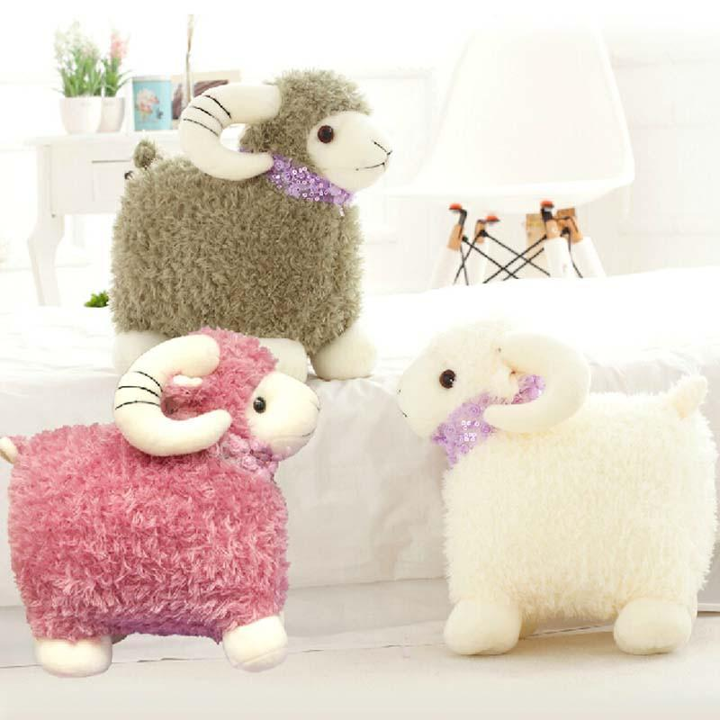 可爱嘟嘟小羊抱枕娃娃创意生日