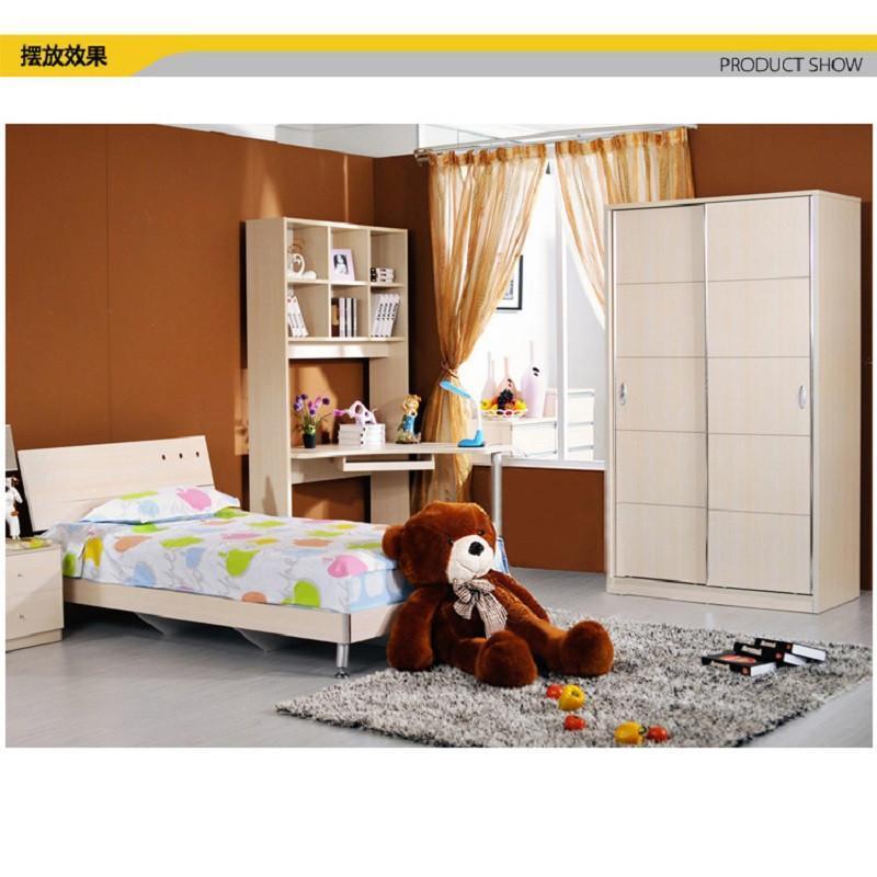 小孩欧式单人床图片